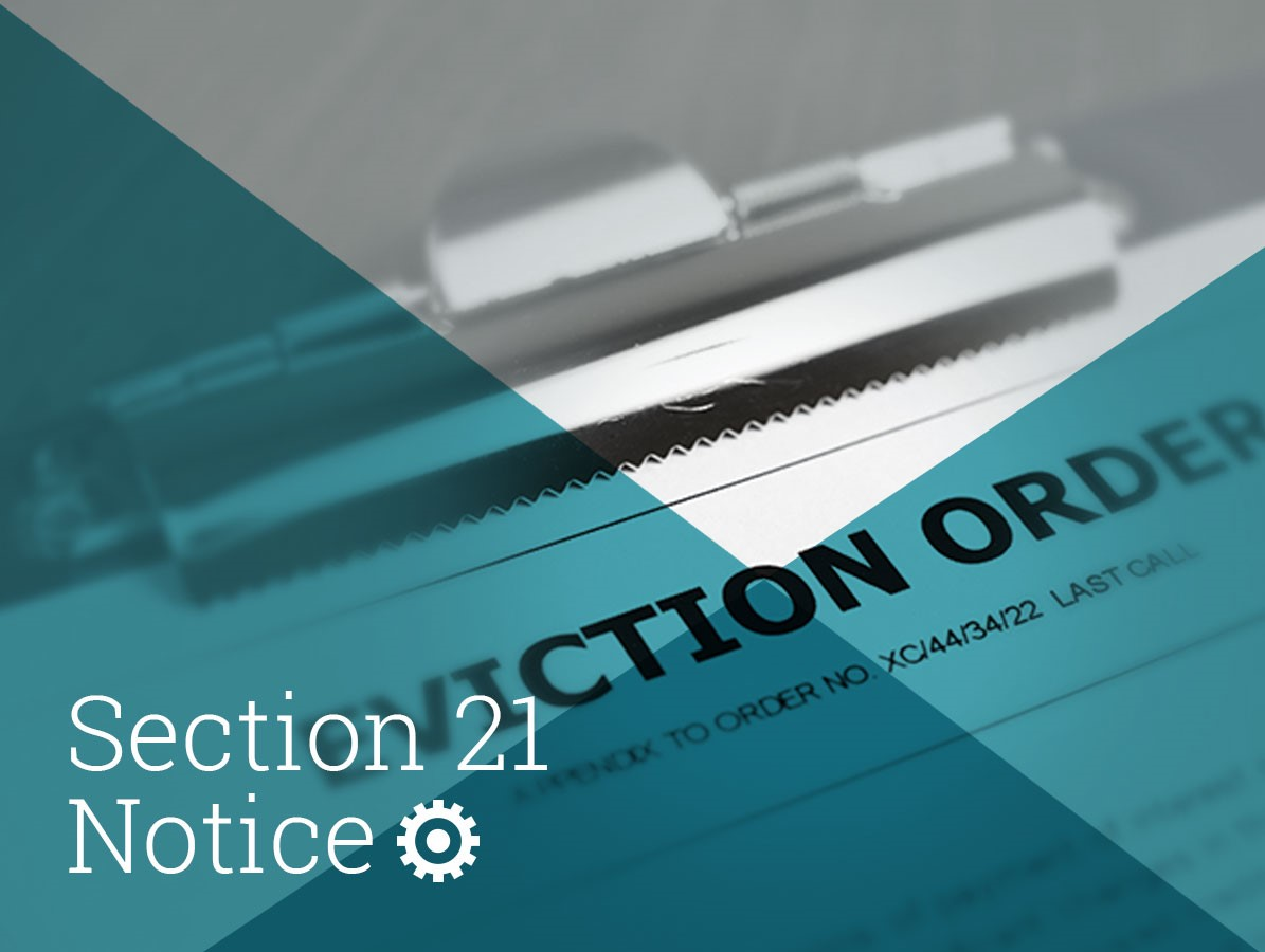Section 21 Notice Services